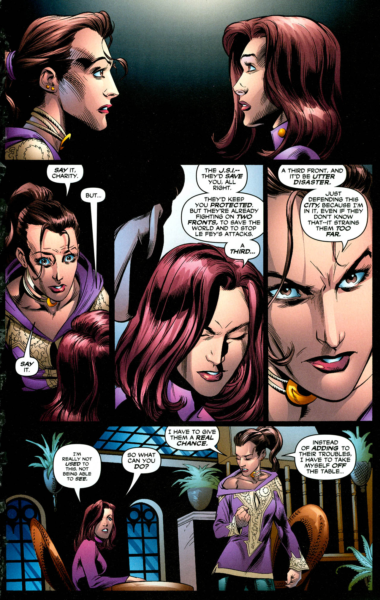 Read online Trinity (2008) comic -  Issue #29 - 31