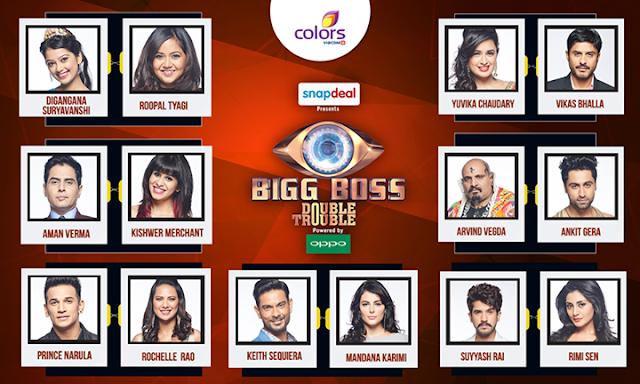 BB 9 Contestants List