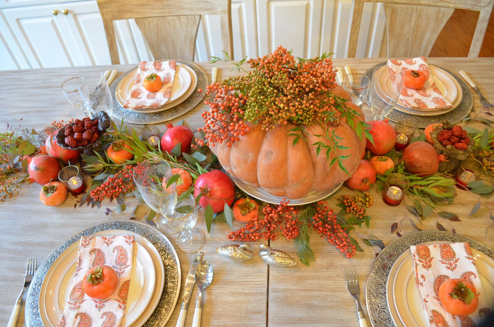 Entertaining From an Ethnic Indian Kitchen: My Thanksgiving table