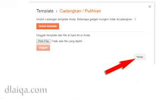 klik 'Tutup'