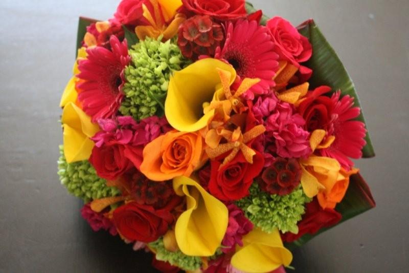 Fashion Portal: Wedding Bouquet For Brides In Spring