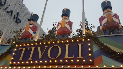 Tivoli Gardens Winter Copenhagen What Claire Did blog