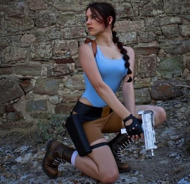 Cosplays sexy e gostosas de Lara Croft