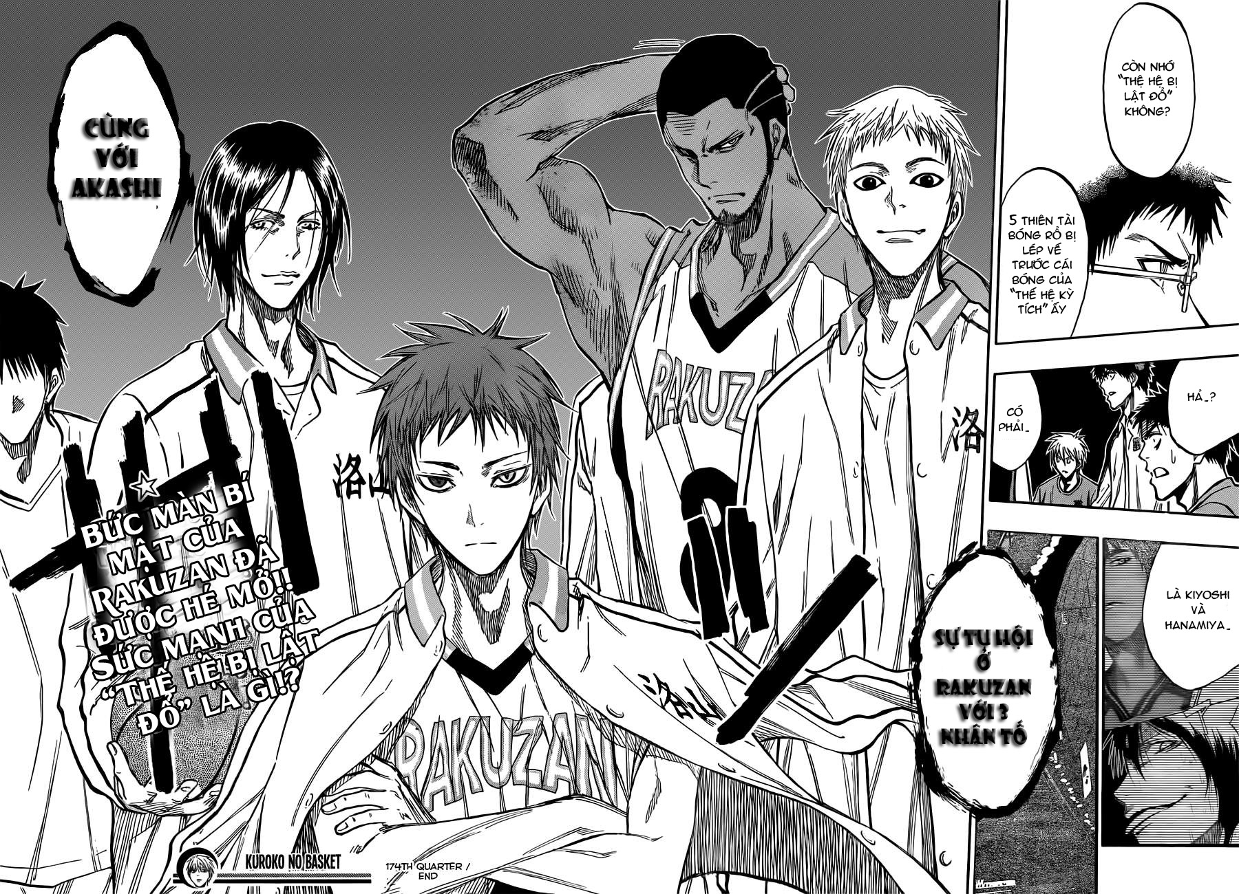Kuroko No Basket chap 174 trang 18