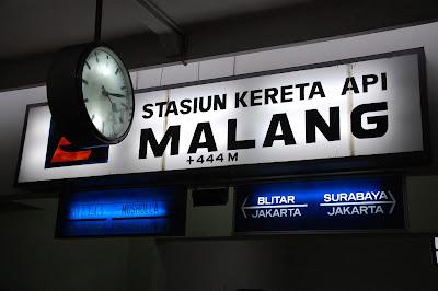 Jadwal Kereta Api di Stasiun Malang 2016