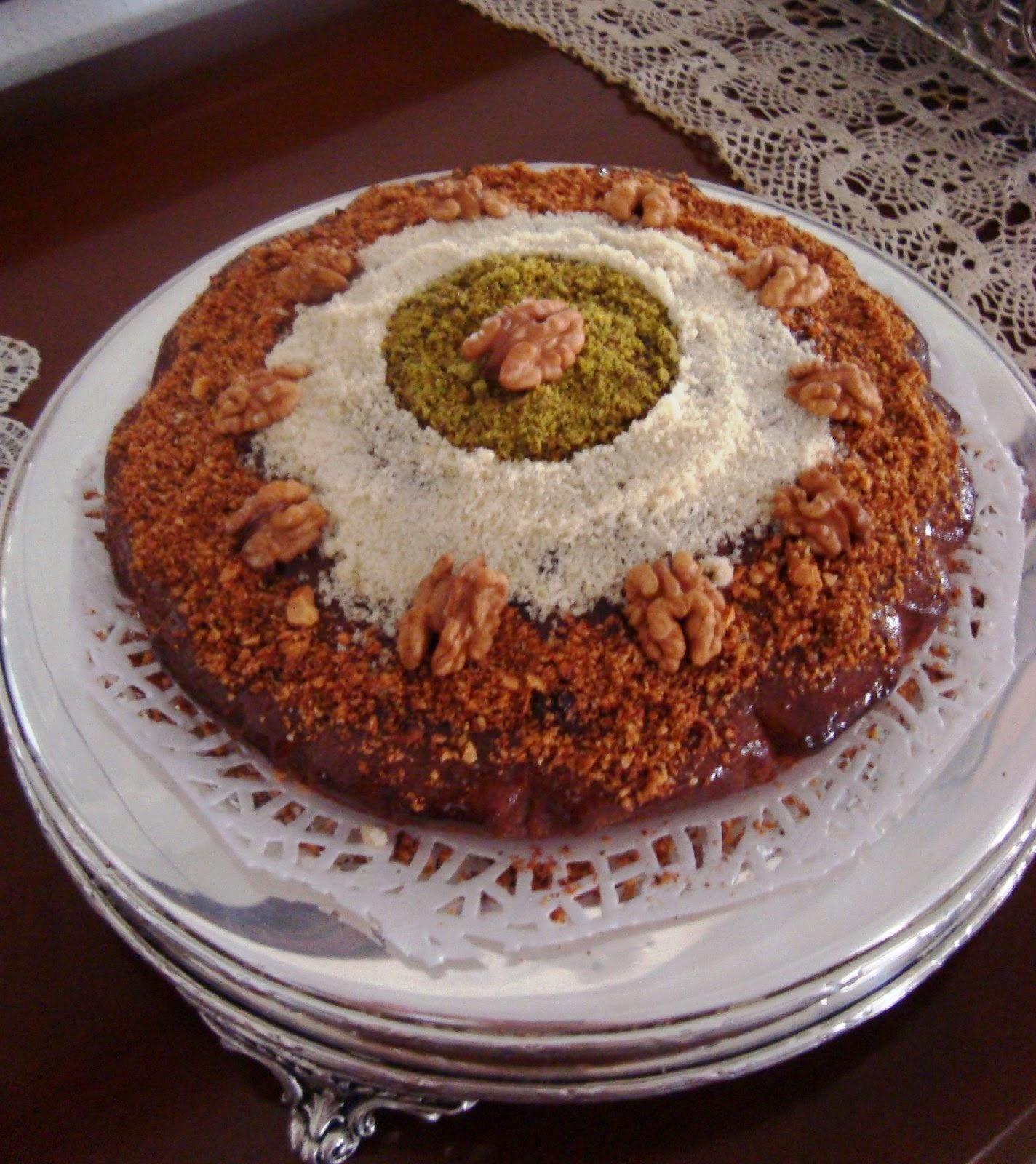 Recette du Gâteau aux noix