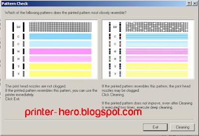 Melakukan Head / Deep Cleaning Printer dengan benar