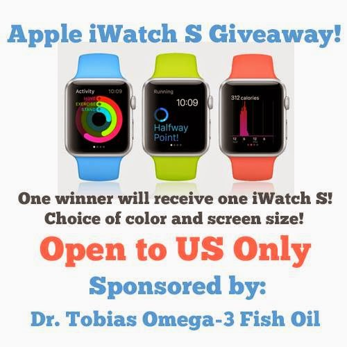 iWatch Sport Giveaway! Ends 4/6