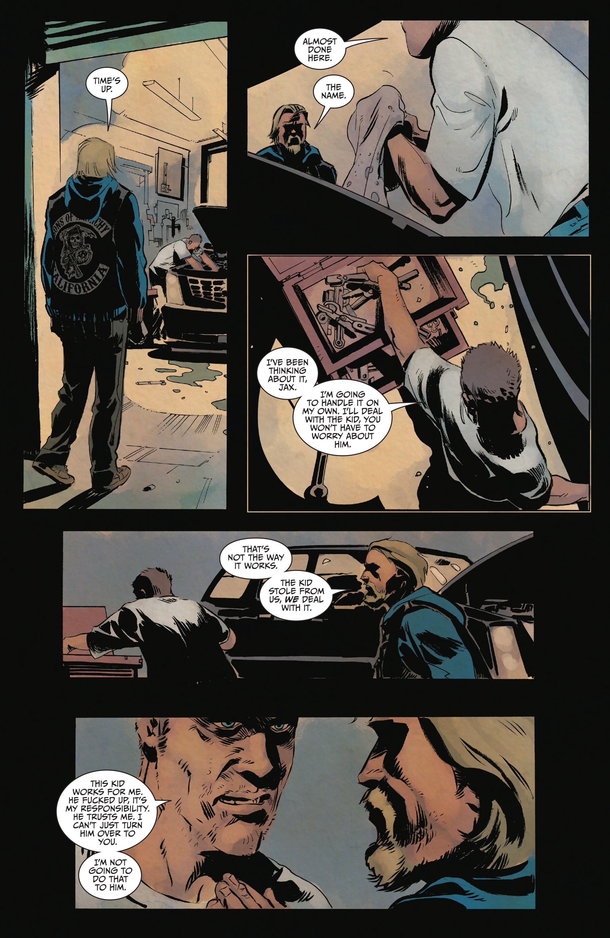 Read online Sons of Anarchy comic -  Issue #15 - 12