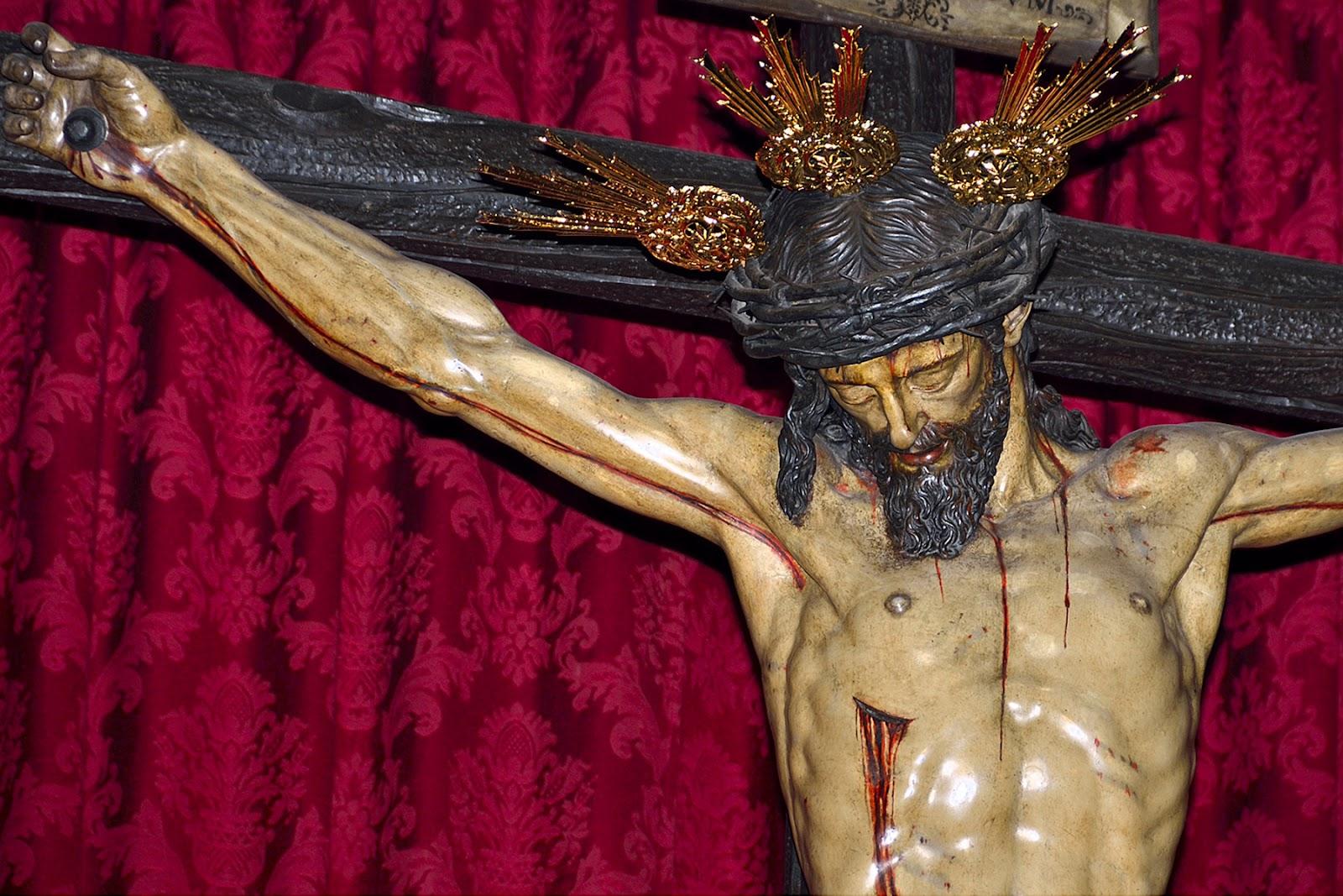 Resultado de imagen de Cristo del Calvario, sevilla ocampo