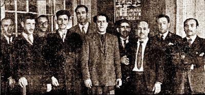Equipo del Gran Café Español en 1944
