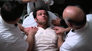 One Flew Over the Cuckoo's Nest Miloš Forman Jack Nicholson Randle McMurphy electro shock therapy electroshock electroconvulsive
