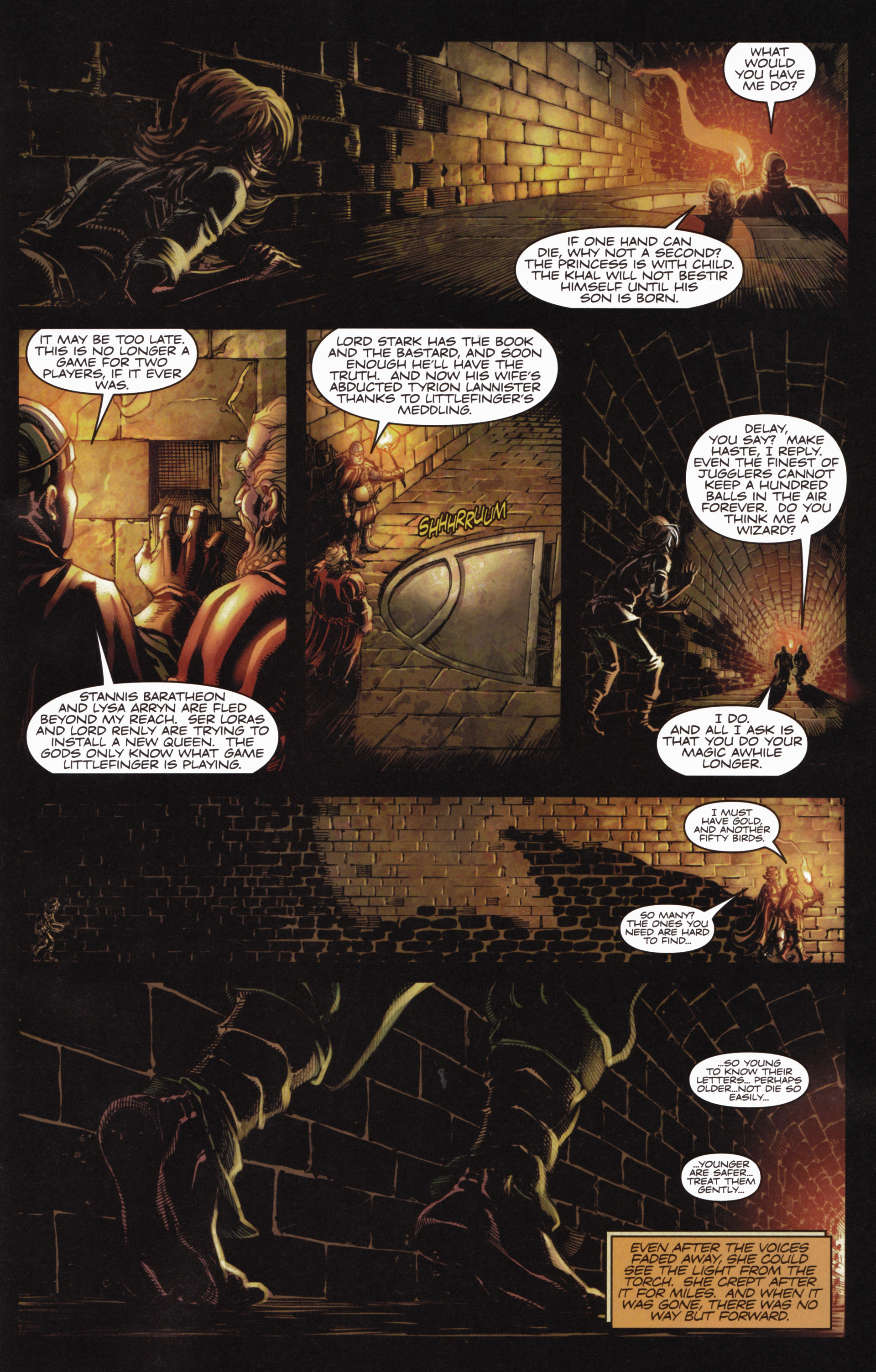 Read online A Game Of Thrones comic -  Issue #10 - 21