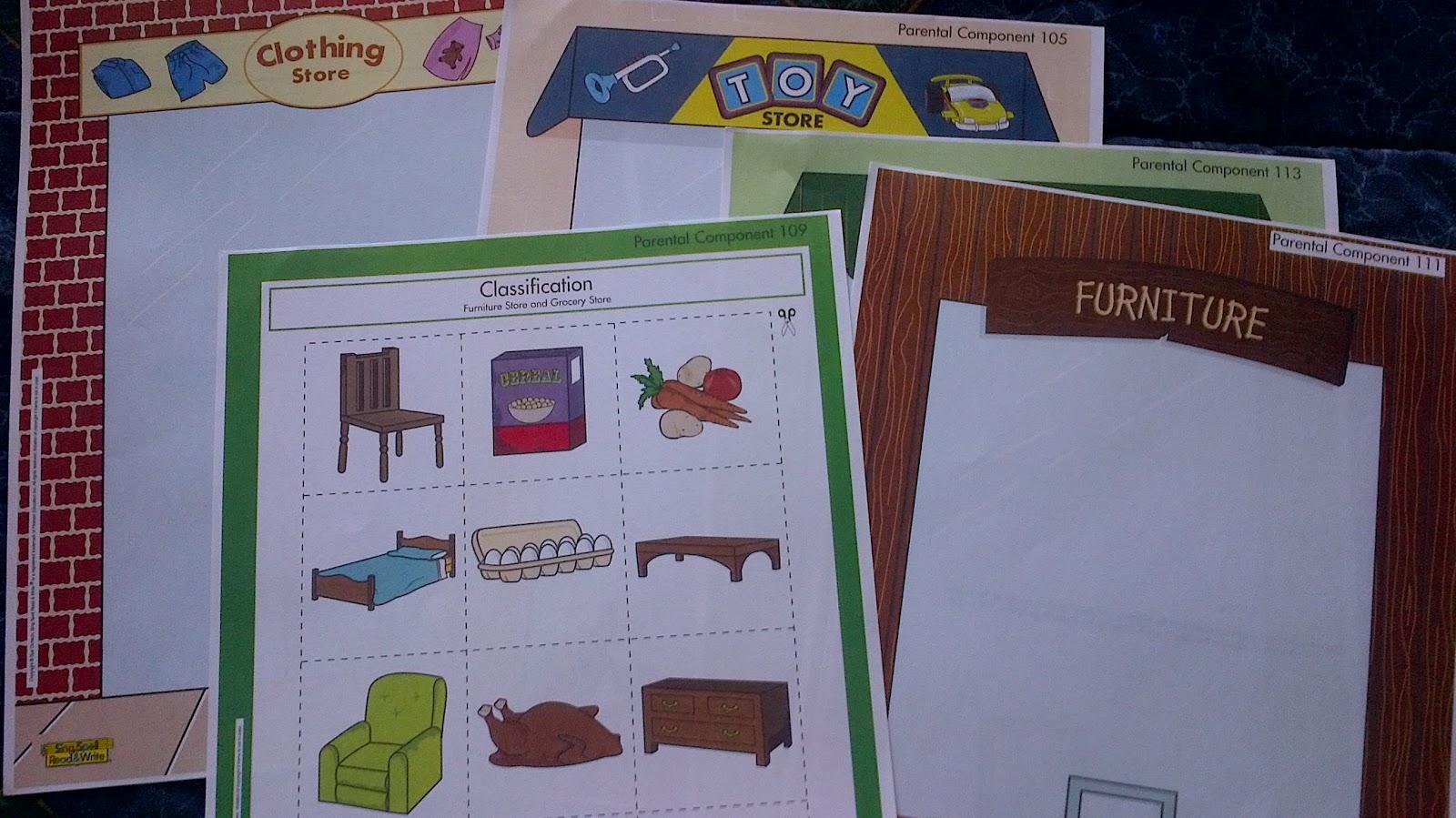 Preschooler Busy Hands Preschool Worksheets Classification