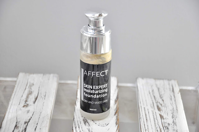 podkład affect skin expert moisturizing foundation dry and mixed skin