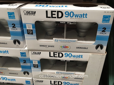 Ensure your home is well lit with the Feit Electric LED 90 Watt Par 38 Spot Replacement