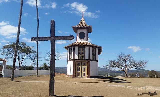 Capela Nossa Senhora Rosario, Milho Verde, Serro, Minas Gerais, Caminho dos Diamantes, Estrada Real