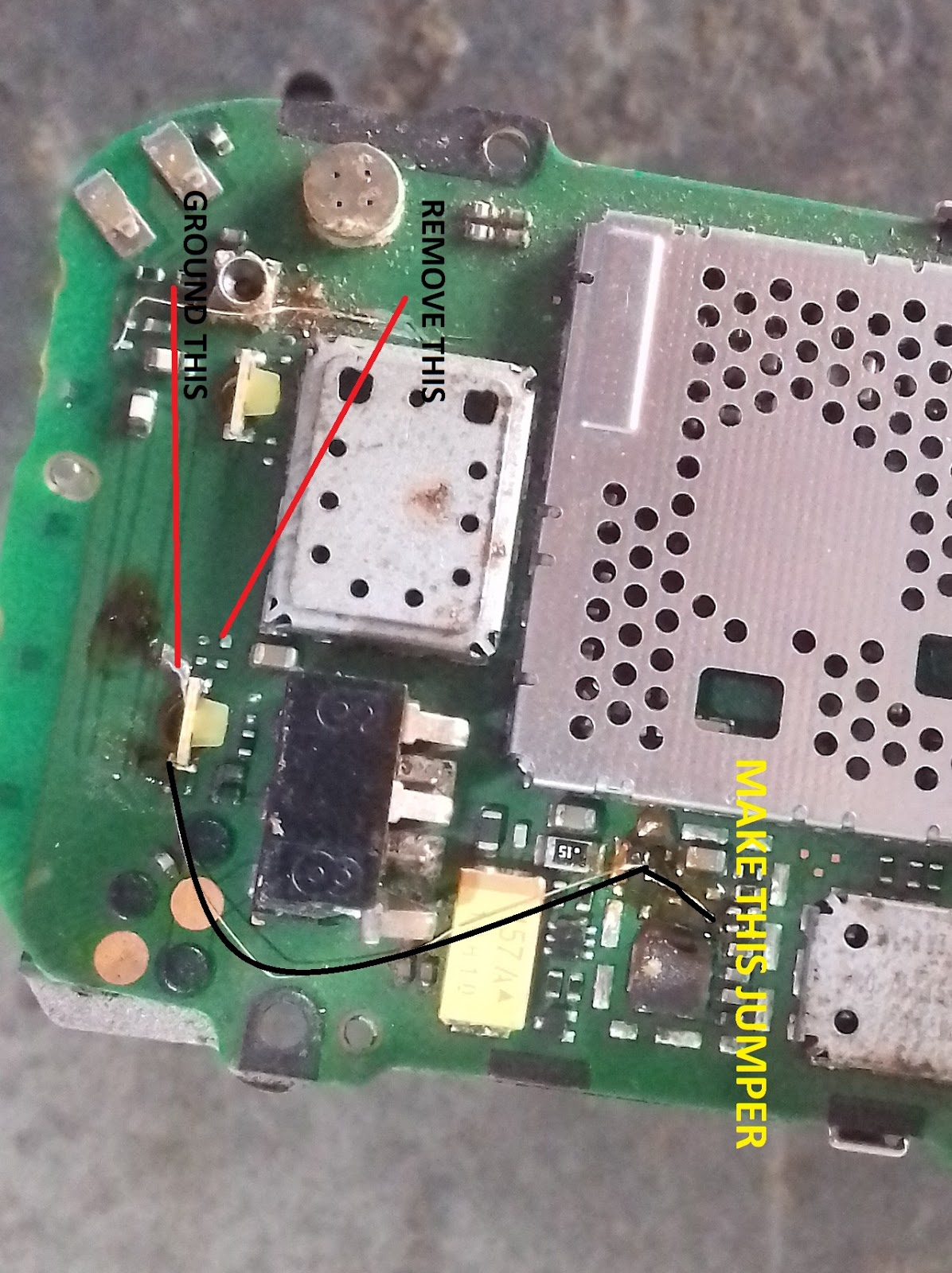 Lenovo k5 note light ic solution