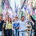 Caminhada de João Arruda arrasta uma multidão ao centro histórico de Curitiba