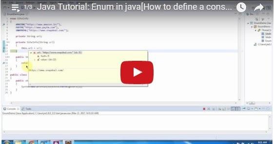 Java ee java tutorial enum in java java enum for Object pool design pattern java example