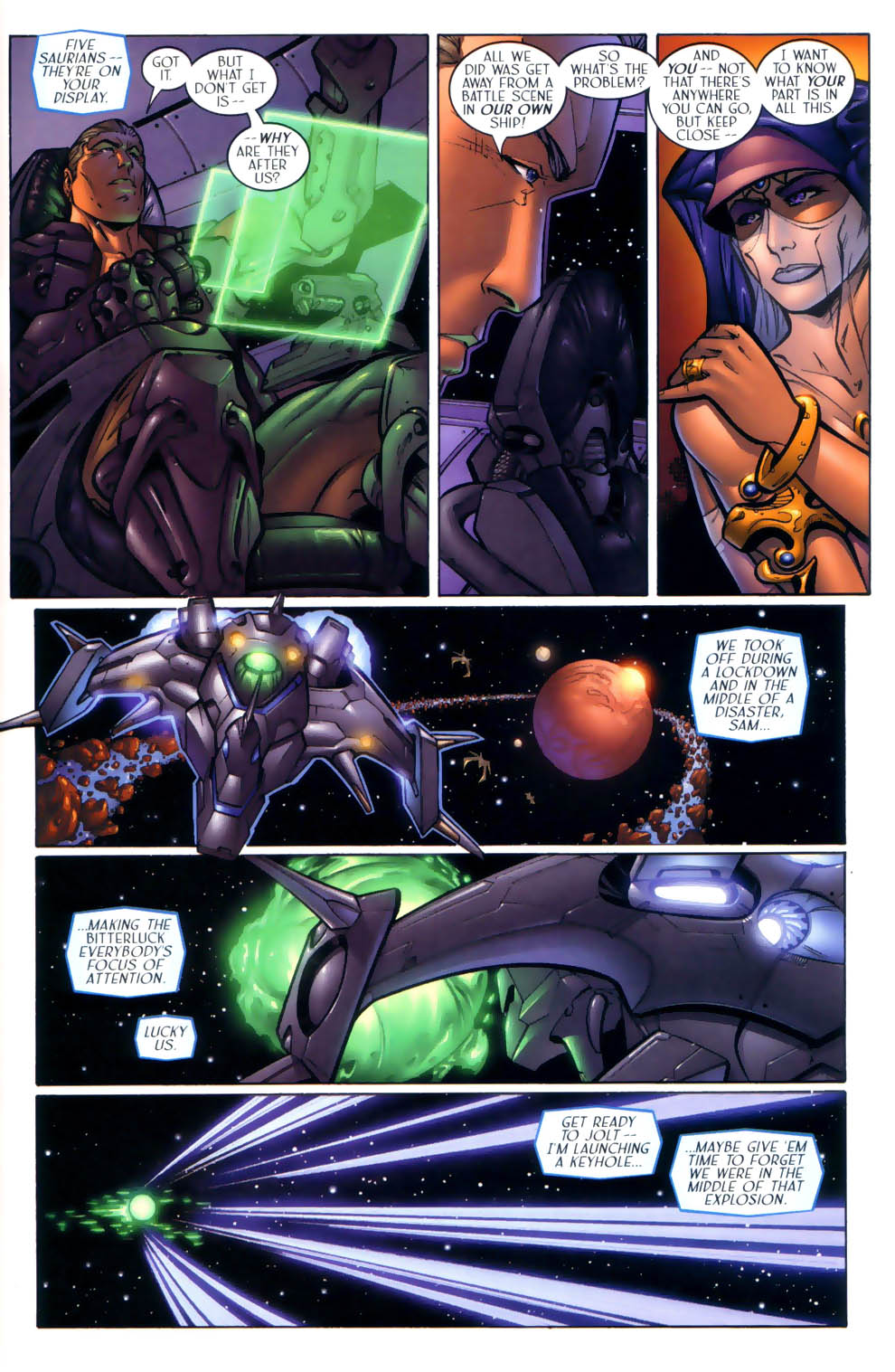 Read online Sigil (2000) comic -  Issue #2 - 6