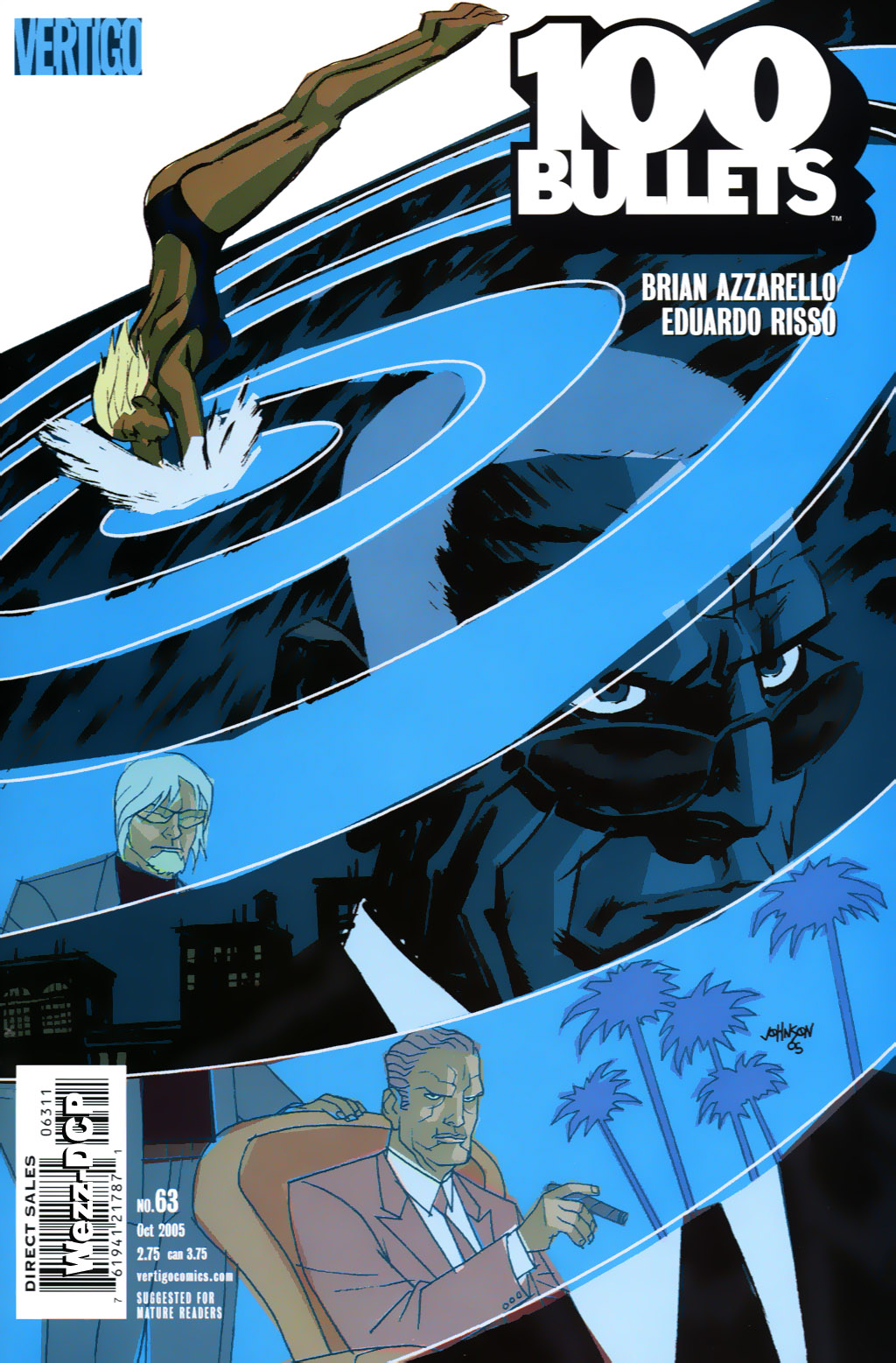 Read online 100 Bullets comic -  Issue #63 - 1