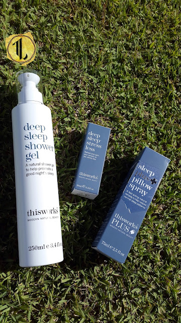 thisworks deep sleep shower gel, stress less and sleep plus pillow spray - www.modenmakeup.com