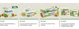 Logo Vallelata : accendi la stampante e scarica i coupon