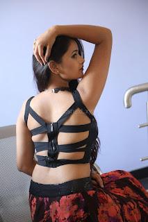 Shriya Vyas in a Tight Backless Sleeveless Crop top and Skirt 47.JPG