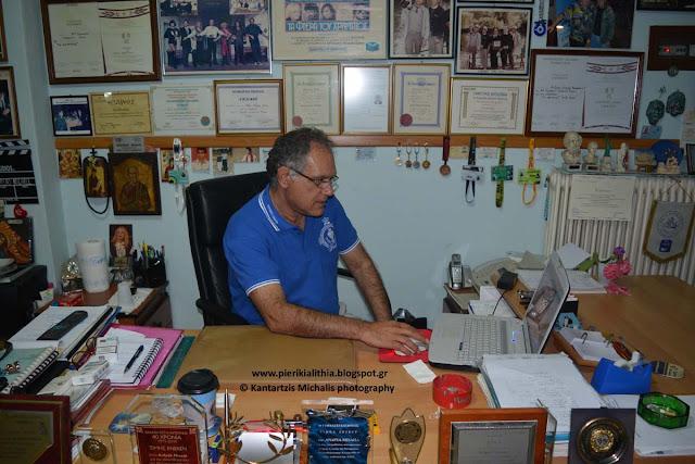 Ο υποψήφιος βουλευτής του Κινήματος Οικολόγων-Συνεργασία Πολιτών της Κύπρου κ. Βασιλείου Αντρέας Αιμιλίου στην «ΑΛΗΘΕΙΑ»