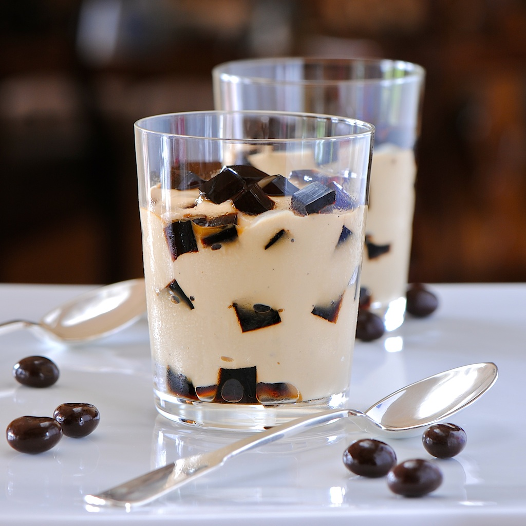 JULES FOOD...: Espresso Pudding Coffee Jelly Surprise