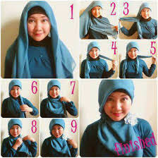 model jilbab pashmina arab