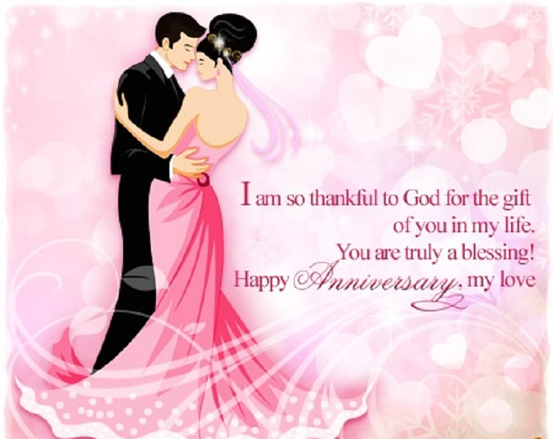 Best happy wedding anniversary wishes for husband wife