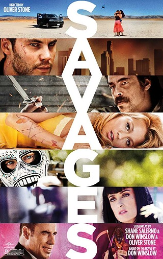 Savages 2012 UNRATED Dual Audio Hindi 450MB BluRay 480p