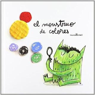 """""""El monstruo de colores"""" de Anna Llenas"""
