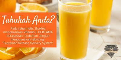 Kenapa Saya Suka Dengan Vitamin C Shaklee