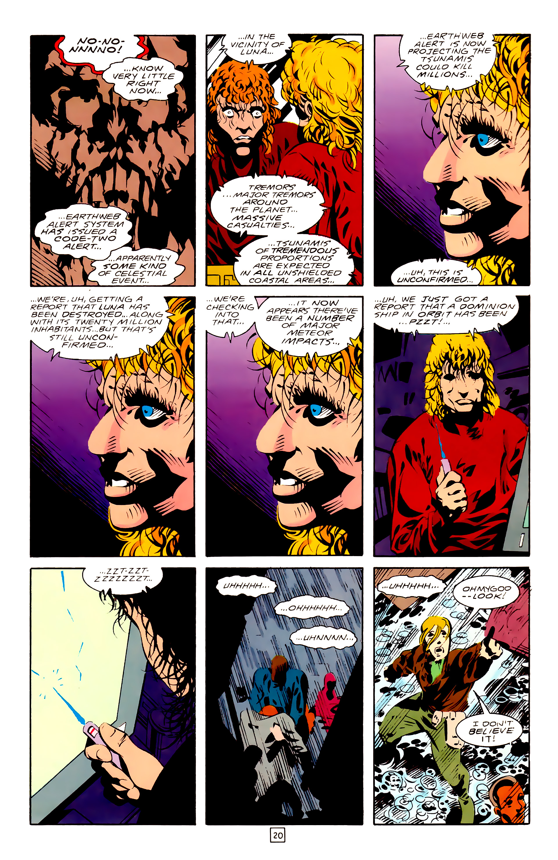 Legion of Super-Heroes (1989) 28 Page 20