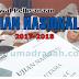 Jadwal Pelaksanaan UN Tahun Pelajaran 2017/2018