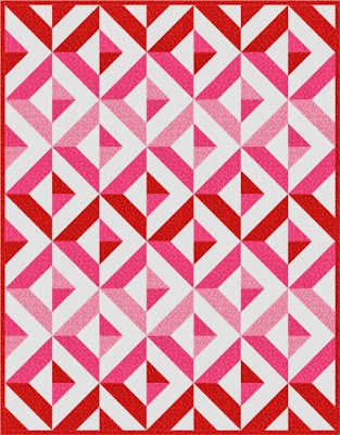 Quilt Inspiration: Free pattern day! Red and white quilts