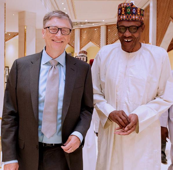 Bill-Gates-Buhari