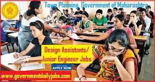 DTP Maharashtra Recruitment 2018 Application Form 393 JE/Design Assistant