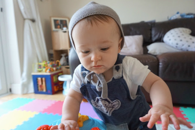 La Coqueta baby bonnet - Just Add Ginger