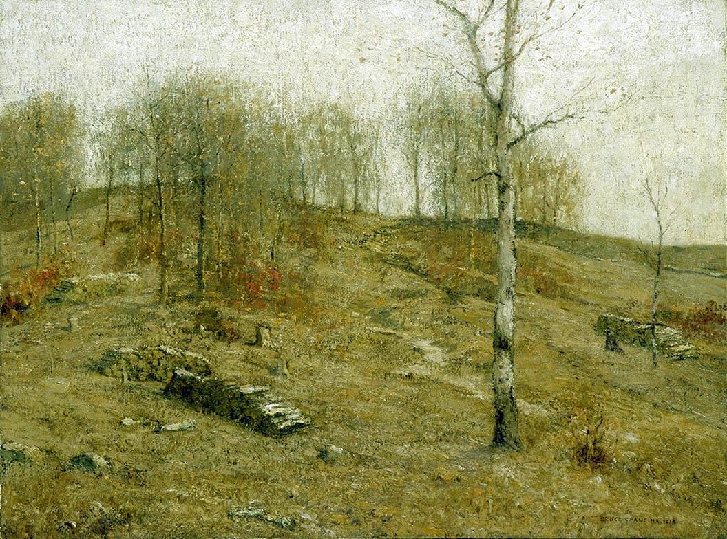 19th Century American Paintings Bruce Crane
