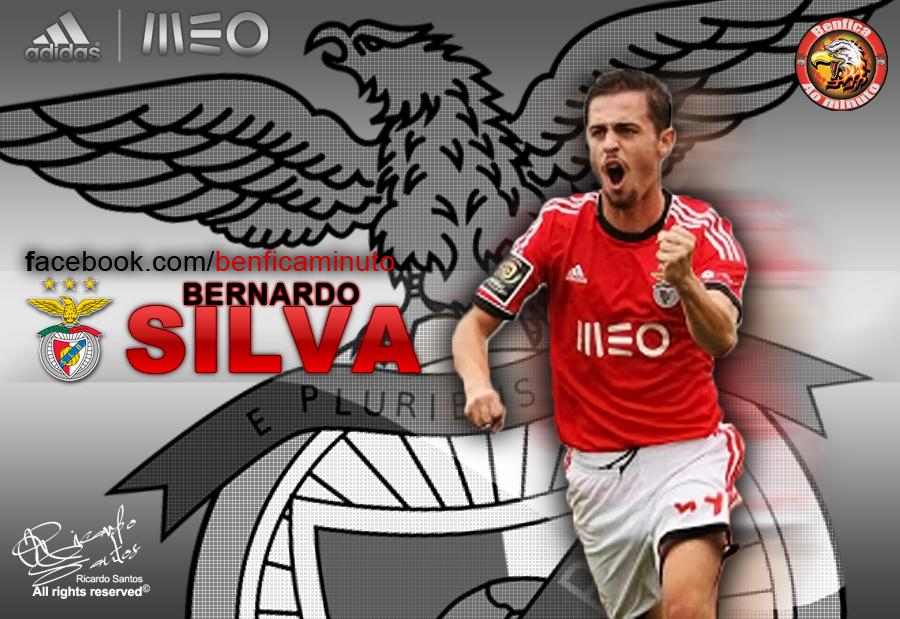 Benfica Glorioso 1904: Wallpaper Bernardo Silva
