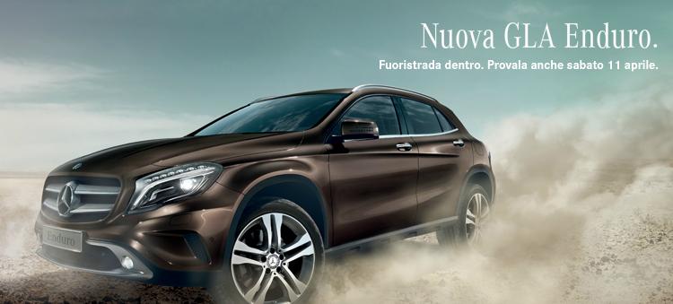 Caratteristiche Mercedes GLA Enduro