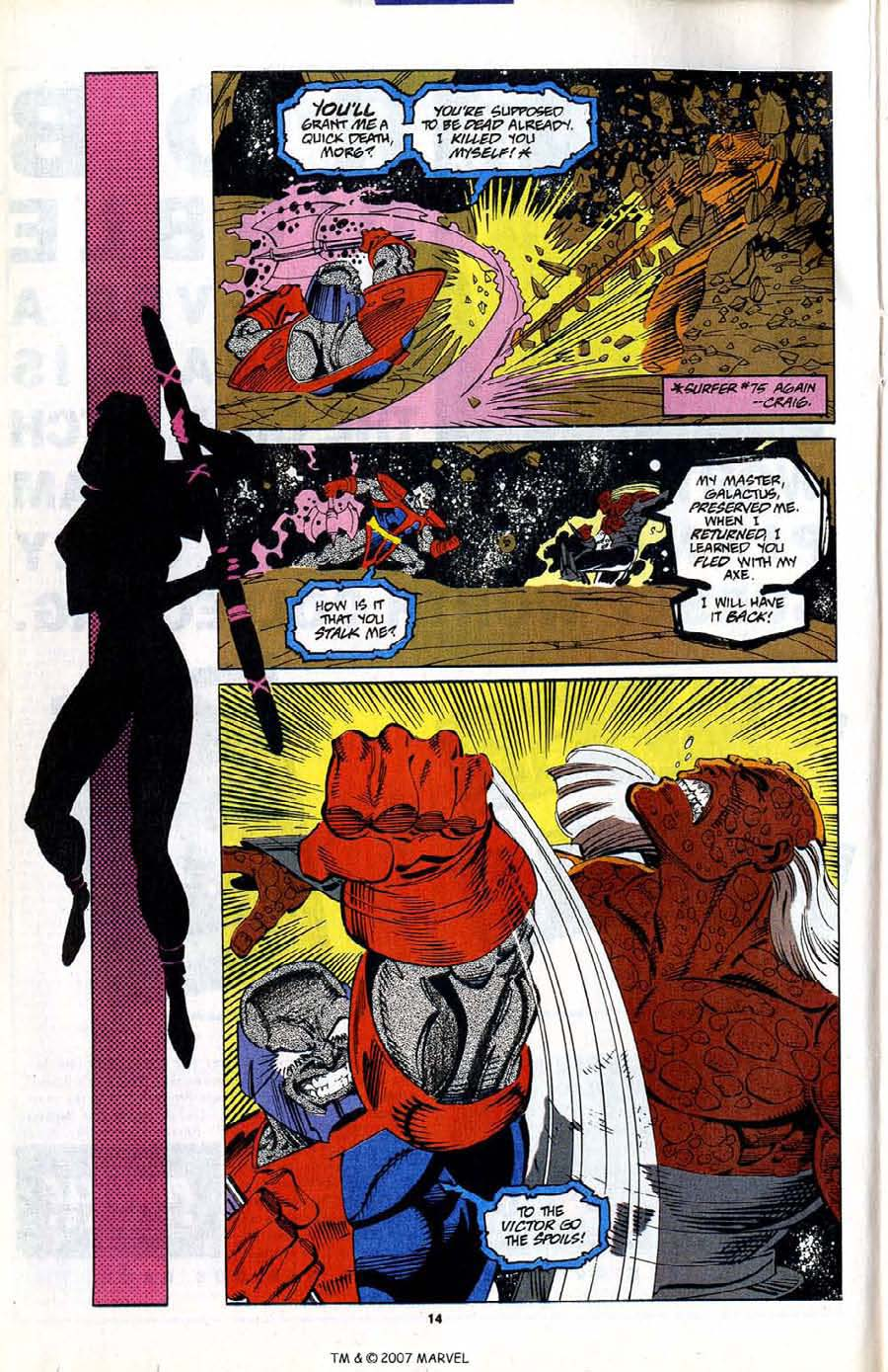 Read online Silver Surfer (1987) comic -  Issue #80 - 16