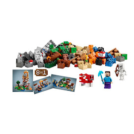 Minecraft Crafting Box Lego Set