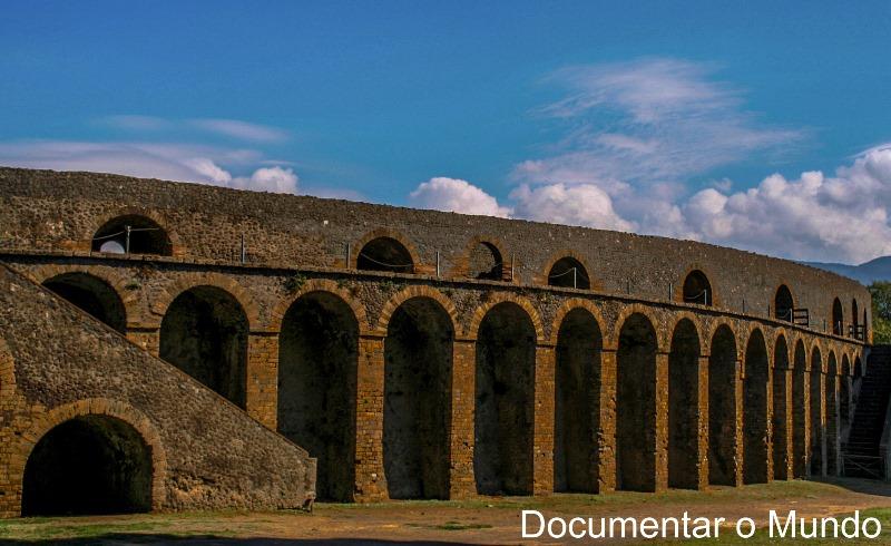 Anfiteatro, Pompeia, Itália