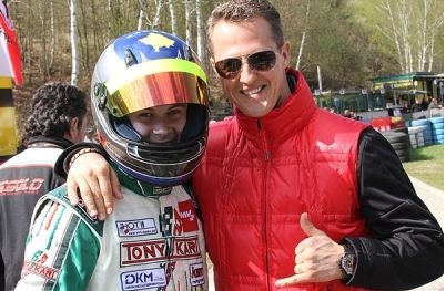 Lirim Zendel and Schumacher