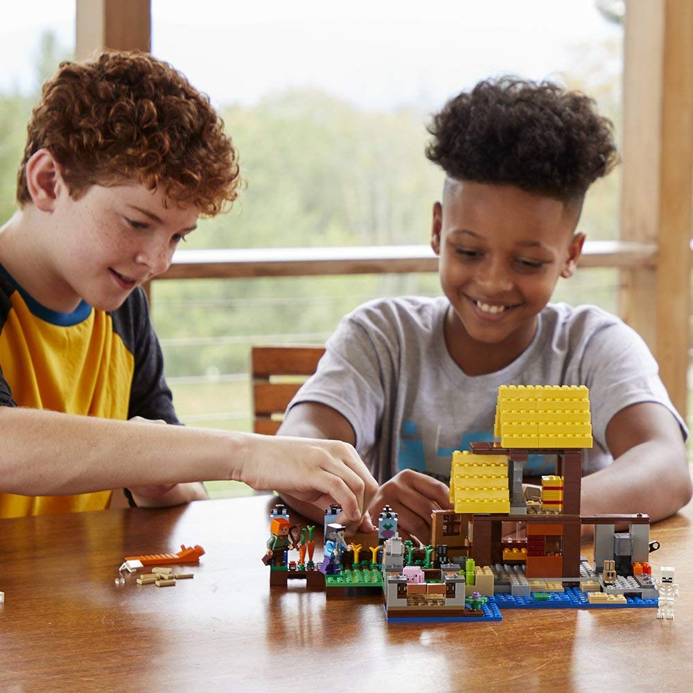392852646d703 Amazon has the LEGO Minecraft The Farm Cottage Building Kit on sale for  $35.99 (regularly $49.99)